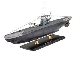 Revell 05155 Duitse Onderzeeër Type IIB (1943) Schaal: 1:144