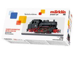 Marklin 30000 Tenderlocomotief serie 89.0 Voorbeeld: Serie 89.0 van de Deutsche Bundesbahn (DB). Eenheidslocomotief.
