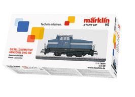 Marklin 36501 Diesellocomotief Voorbeeld: Dieselrangeerlocomotief van het type Henschel DH