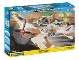 COBI 5545 SMALL ARMY SUPERMARINE SPITFIRE DESERT AIRSTRIP