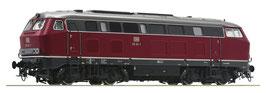 Roco Diesel locomotief klasse 215, DB