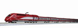 Kato 101658 10 delige Thalys TGV PBKA treinstel VI design Schaal N