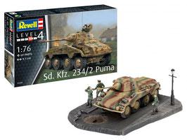 Revell 03288 Sd.Kfz. 234/2 Puma Schaal: 1:76