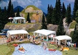 Faller 130503 De caravanreeks van de camping