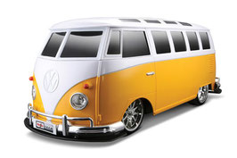Maisto 81044 Volkswagen T1 geel/wit Radiocontrol