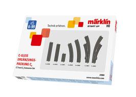 Marklin 24904 C-rail uitbreidingsset C4