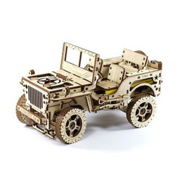 WOODEN CITY 4 X 4 JEEP 309