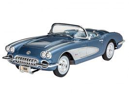 Revell 07037 '58 Corvette Roadster Schaal: 1:25