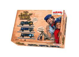 """Marklin 44817 Märklin Start up - set open goederenwagens """"Nepomoek, mevrouw Maaltand en de Wilde 13"""""""