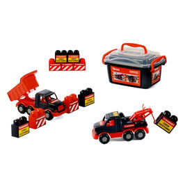 Mammoet trucks with bricks 900009