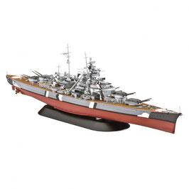 Revell 05098 Slagschip Bismarck Schaal: 1:700