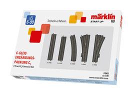 Marklin 24902 C-rail uitbreidingsset C2