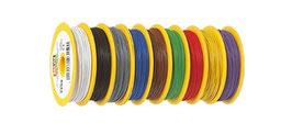 Brawa  DRAAD 0,14 MM² 25-METER Verschillende Kleuren