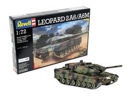 Revell 03180 Leopard 2A6 / A6M Schaal: 1:72