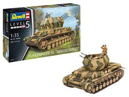 Revell 03296 Flakpanzer IV wervelwind Schaal: 1:35