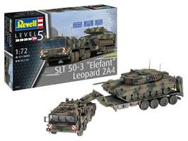 """Revell 03311 SLT 50-3 """"Elephant"""" + Leopard 2A4 Schaal: 1:72"""