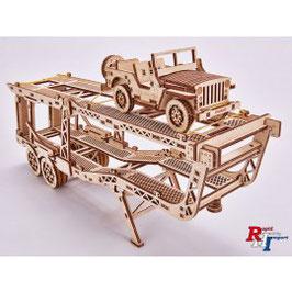WTR00018 Oplegger met jeep