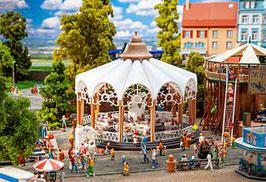 140335  Carrousel koffie kopjes heiderozen