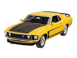 Revell 07025 Boss 302 Mustang uit 1969 Schaal: 1:25
