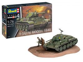 Revell 03294 T-34/76 model 1940 Schaal: 1:76