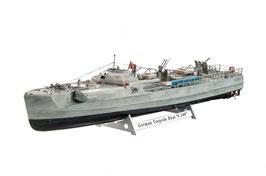 Revell 05162 Duitse Torpedoboot S-100 Schaal: 1:72