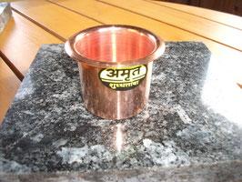 Kupferbecher für Ghee