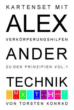 PRINZIPIEN   Lernkarten zum Verständnis der Prinzipien der Alexander-Technik