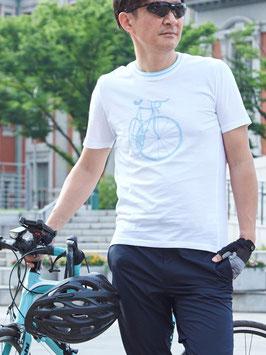 自転車モチーフTシャツ(ベンチレーション付き)