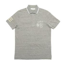 台襟付きポロシャツ(汗ジミ防止)