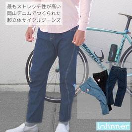 スーパーストレッチサイクルジーンズ(岡山デニム)