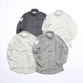 ウールカットソーシャツ