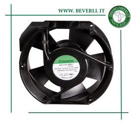 Ventilatore assiale c.a., diametro di 172 mm