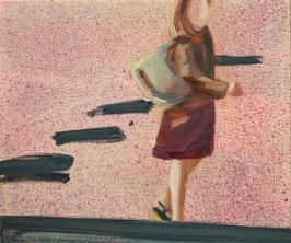Strasse II ( Pink, Skizze), 2012