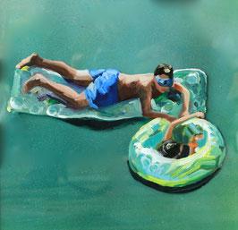 Schwimmring, 2018, Cinque Terre
