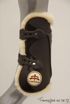 "MaKeBe Sheepskin tendon boots ""Temple Sheepskin"""