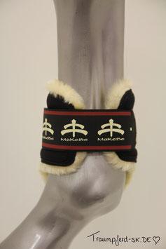 "MaKeBe Sheepskin fetlock boots ""Temple Sheepskin"""