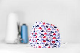 MNS - Maske mit Regenschirmen