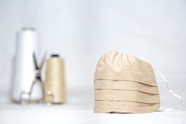 MNS - Maske in Beige