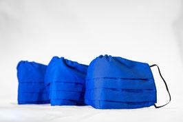 MNS - Maske Blau 3er-Pack