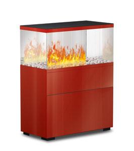 Case Effektfeuer - rot