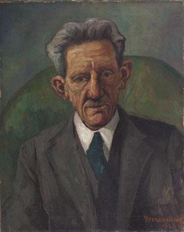 Portret vader kunstenaar