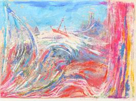Gekleurde golven