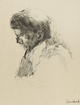 Portret man lezend