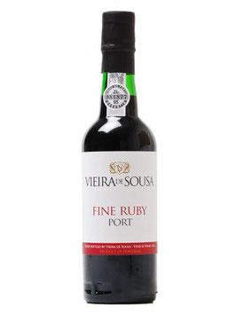VIEIRA DE SOUSA FINE RUBY PORT 0.375 L