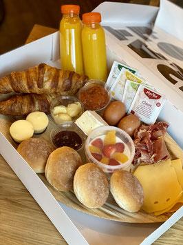 B.K.O. ontbijt (brunch) | 2 personen | afgebakken