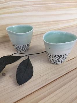 Duo de tasses Moude pour café serré
