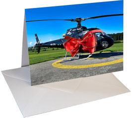 Geschenkkarten Helikopter