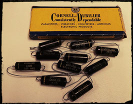 Cornell-Dubilier PIO Caps 600V 0.022 MFD