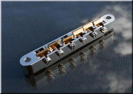 ABRH-59BG, Nickel plated, natural brass saddles, gloss finish  Art. Nr. 3025