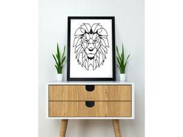 Lion 2D Art